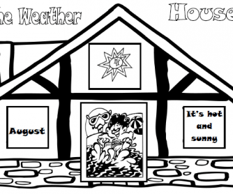 The Weather House Elementary Worksheet