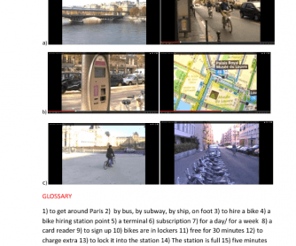 Movie Worksheet: Paris by Citybike