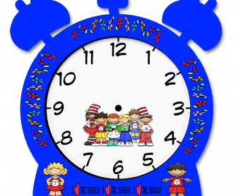 Make Your Own Clock Elementary Worksheet