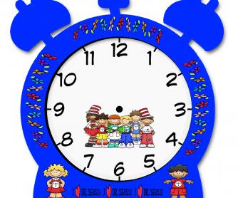 Make Your Own Clock Elementary Worksheet