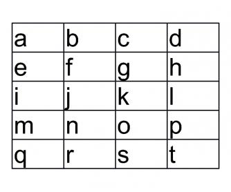 Letter Sound and Phonics Bingo