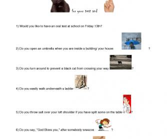 Quiz on Superstitions