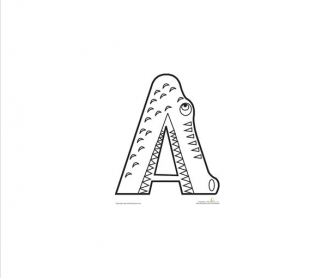 Color the Animal Alphabet
