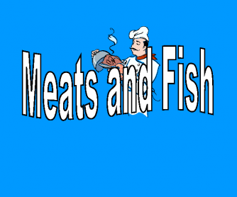 Meats and Fish - Simple PPT