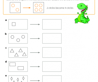 Doubling Shapes - Maths Resource