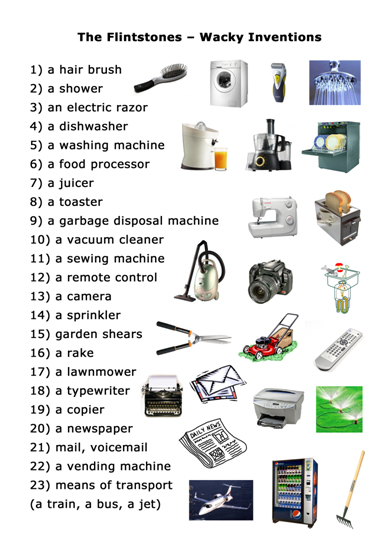 46 FREE Gadgets Worksheets