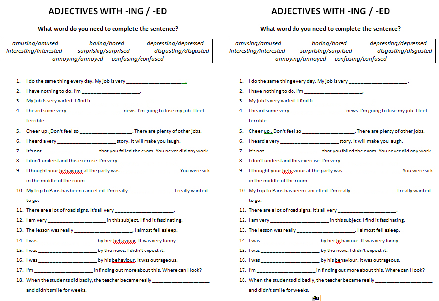 46 FREE ed and ing endings Worksheets – Adding Ed and Ing Worksheets