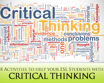 critical thinking vocabulary test Here is a real life critical thinking exercise showing how to plan for a great vacation.