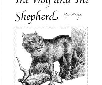 The Wolf and the Shepherd by Aesop