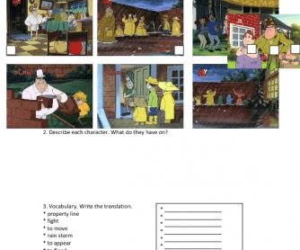 Movie Worksheet: Life with Louie