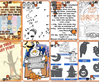 Halloween Minibook