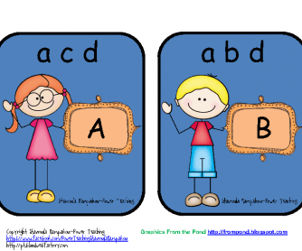 Matching Letters Activity