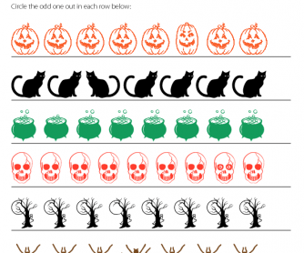 Halloween - Odd One Out