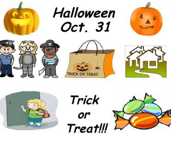 Halloween Speaking Points