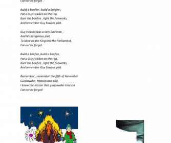 Song Worksheet: The Fifth of November