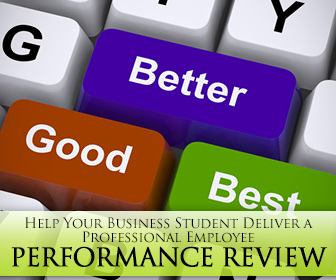 4 Tips and Activities to Help Your Business Student Deliver a Professional Employee Performance Review