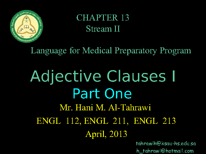 10 examples of adjective clauses