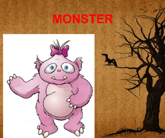 Halloween Vocabulary (Monsters)
