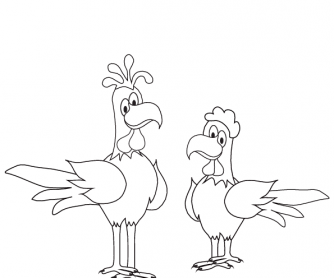 Colouring Worksheet - Thanksgiving (1)