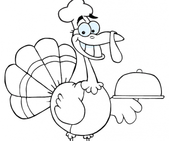 Colouring Worksheet - Thanksgiving (2)