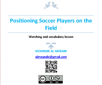 Movie Worksjeet: Positioning Soccer Players on the Field