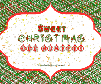 Sweet Christmas with Odd Numbers