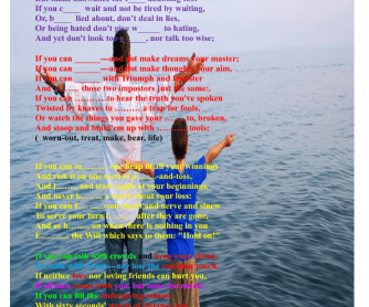 Father and Son Poem