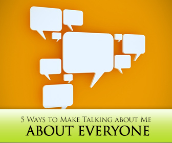5 Ways to Make Talking about Me about Everyone in a Group Conversation Class