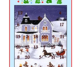 Advent Calendar - Christmas Activities