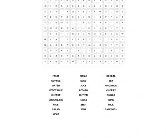 Food Vocabulary (Beginners)