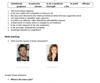 Movie Worksheet: Validation