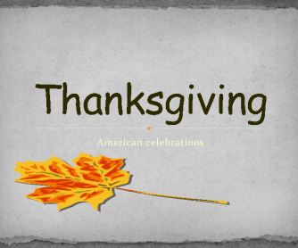 Movie Worksheet: Thanksgiving Powerpoint Presentation