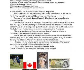 Canada - Basic Facts