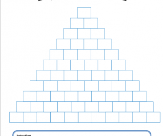 Pyramid - End of Class Activity