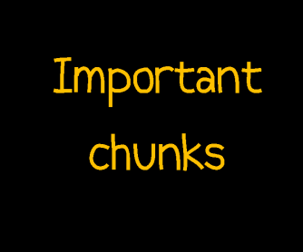 Important Chunks for Teachers