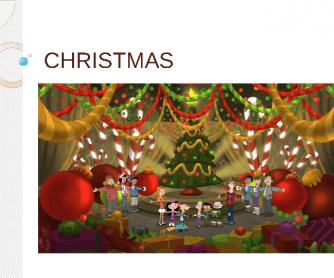 Christmas 2013 Presentation Flashcards