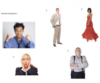Describe Each Person