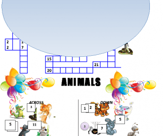 Animals (Crossword Puzzle)