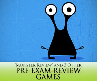 Ahhhh, Exams!: 'Monster Review' and 3 Other Pre-Exam Review Games