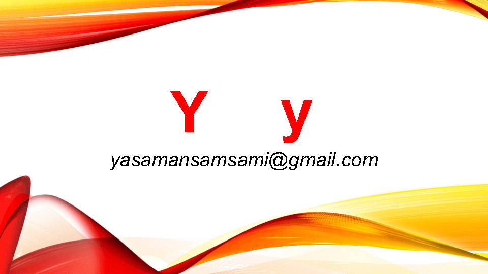 Letter y Words Letter y Powerpoint