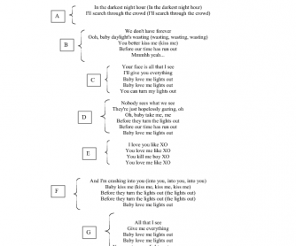Song Worksheet: XO by Beyonce