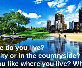 living in cities or in countryside essay