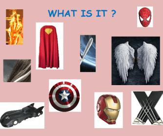 Superheroes Possessive Presentation