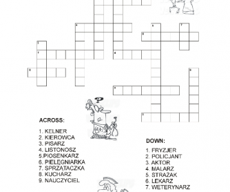 Crosswords- Jobs ( Polish)