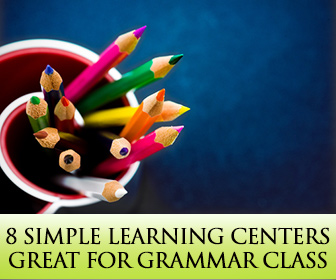 8 Simple Learning Centers Great for Grammar Class