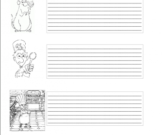 Movie Worksheet: Ratatuille