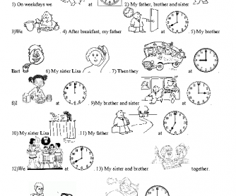 Fichas imprimibles para trabajar vocabulario en ingles. Printable ...