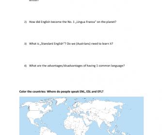 English as a Global Language - World Café