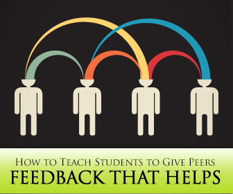 How to Teach Students to Give Peers Feedback that Helps