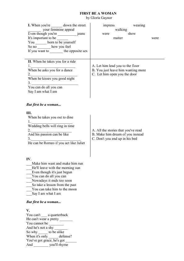 FREE 81 March Worksheets for Your ESL Classes – I Have a Dream Too Worksheet